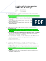 Preguntas Exposicion Criptografia de Clave Publica y Autentificación de Mensajes