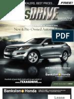 TexasDrive Magazine Jan. 25-Feb. 7, 2010 Issue