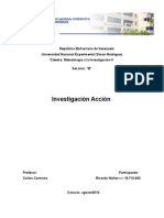 Trabajo Investigacio Accion y Ciencias Sociales