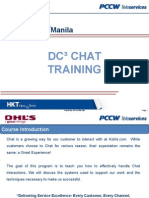 dc chat training