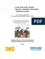 Light at the End of the Tunnel Colombia case study IDPs