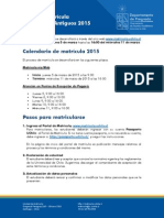 Guia de Matricula U Chile