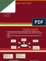 Hadis Sahih, Hasan & Dhaif
