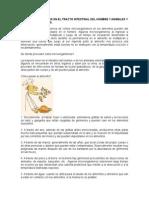 MICROORGANISMOS EN EL TRACTO INTESTINAL DEL HOMBRE Y ANIMALES Y PIENSOS DE ANIMALES.