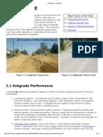 Sub Grade pavement