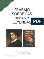 TRABAJO DE RIMAS Y LEYENDAS DE BÉCQUER