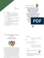 Programa Olimpiadas 2014 Montserrat