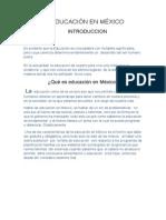 LA EDUCACIÓN EN MÉXICO ensayo.docx