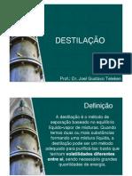 Destilaçao