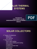 Introduction to Solar Thermal Systems