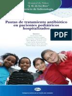 Pautas de tratamiento antibiótico en pacientes pediátricos hospitalizados
