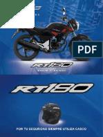 Manual Italika RT180