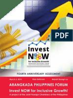 Fourth Arangkada Anniversary Assessment