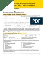 UPP CourseComponents 2014