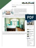 Những Cách Phối Màu Cho Phòng Ngủ ĐẹpKientruc365