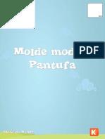 Moldes Pantufa