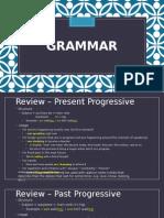 future progressive (past&present progressive&perfect review)