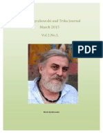 Mark Dyczkowski and Trika Journal March 2015 Vol.1.No.1.