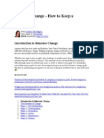 1A-Stages of Personal Change