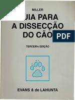Livro Guia Para Dissecação Do Cão