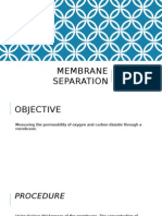 Membrane Separation Presentation