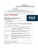 IGCSE ICT - Emerging Technologies (for the New Syllabus)