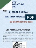 Unidad 2. Marco Legal
