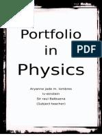 Portfolio in Physics.docx
