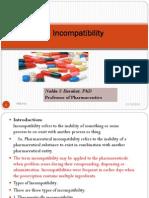 Lecture 11 Incompatibility