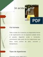 Digestión acida