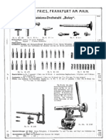 Boley watchmakers lathe catalog