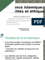Finance islamique finalités et éthique strasbourg 13 Octobre 2010.pptx