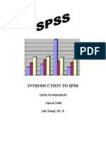 SPSS Instruction