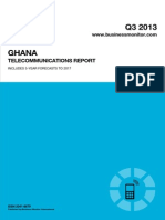BMI Ghana Telecommunications Report Q3 2013[1] 22145049