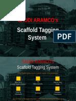 SA Scaffold Tag System