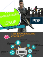 Bangsamoro issue