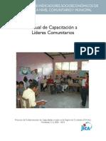 3.Manual de Capacitacin a Lderes Comunitarios
