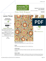 Crochet Lenox Throw