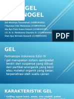 Hidrogel, Organogel Fix
