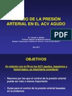 HTA-Manejo PA en ACV Agudo