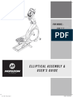 SXE7.7 Elliptical Manual
