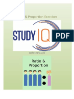 PDF StudyIQ Ratio & Proportion Question Bank for bank po and ssc exams