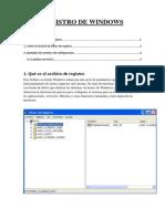 7. Registro de Windows