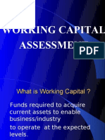 Working Capital Assessment