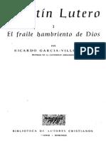 Martin Lutero - El Fraile Hambriento de Dios