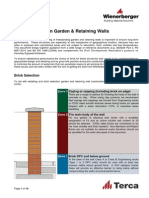 Guidance Note on Garden & Retaining Walls