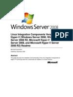 Linux Integration Components Read Me