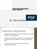 Ch11risk Management
