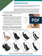 Moisture Retaining Eyewear