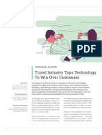 Travel Industry Taps Technology to Win Over Customers Winsights